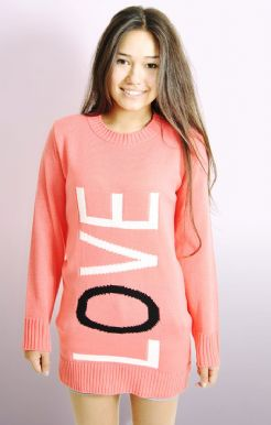 Long Sleeved LOVE Jumper